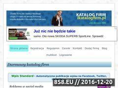 Miniaturka domeny ikatalogfirm.pl