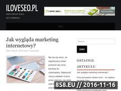 Miniaturka domeny www.iloveseo.pl