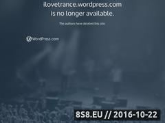 Miniaturka domeny www.ilovetrance.wordpress.com