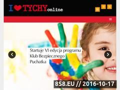Miniaturka domeny www.ilovetychy.pl