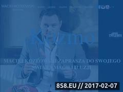 Miniaturka domeny iluzjonistamaciejkozlowski.com.pl