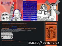 Miniaturka domeny www.imagine.com.pl