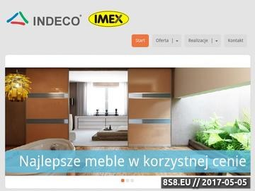 Zrzut strony IMEX Zabudowania wnęk