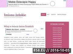 Miniaturka domeny imiona-zenskie.atlo.pl