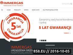 Miniaturka domeny www.immergas.com.pl