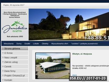Zrzut strony Biuro nieruchomości Olsztyn