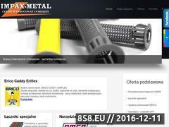 Miniaturka domeny www.impax-metal.com.pl