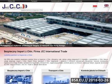 Zrzut strony Import z Chin - współpraca i transport z Chin, import Chiny