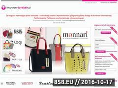Miniaturka domeny importertorebek.pl