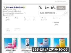 Miniaturka domeny www.impregnatdokamienia.pl