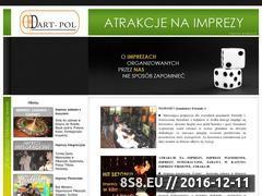 Miniaturka domeny www.imprezy-atrakcje.pl