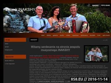 Zrzut strony Zespół na wesele oraz wszelkie inne imprezy rozrywkowe