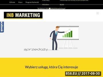 Zrzut strony E Marketing Lublin