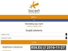 Miniaturka domeny www.incert.pl