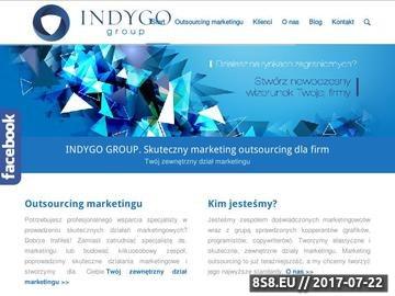 Zrzut strony Doradztwo strategiczne, marketing dla firm i outsourcing