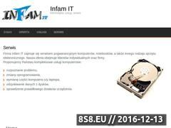 Miniaturka domeny infam.pl