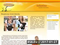Miniaturka domeny www.infantino.pl