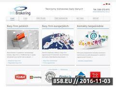 Miniaturka domeny infobrokering.pl