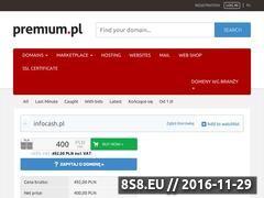 Miniaturka domeny www.infocash.pl