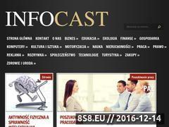 Miniaturka domeny www.infocast.pl