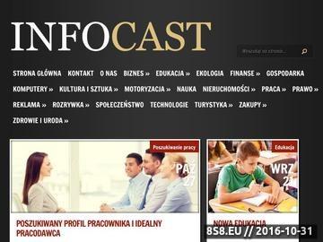 Zrzut strony Wiadomości i informacje