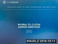 Miniaturka domeny www.infokonkursy.pl