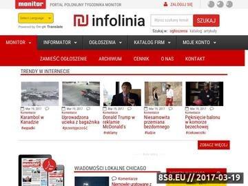 Zrzut strony Monitor Chicago - Tygodnik Polonii w USA