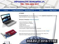 Miniaturka domeny informatyk-borowiec.pl
