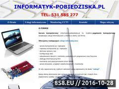 Miniaturka domeny informatyk-pobiedziska.pl