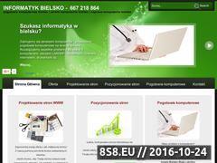 Miniaturka domeny www.informatyk.bielsko.pl