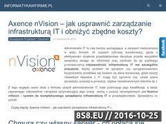 Miniaturka domeny informatykawfirmie.pl