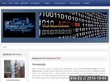 Zrzut strony Usługi informatyczne dla firm w Krakowie - IT dla firm