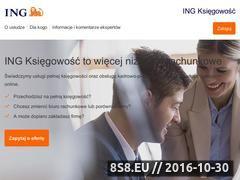 Miniaturka domeny www.ingksiegowosc.pl