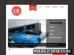 Miniaturka domeny ink-studio.pl