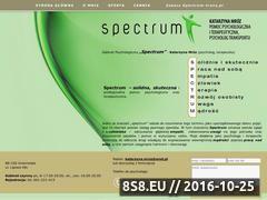 Miniaturka domeny www.ino-spectrum.pl