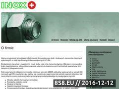 Miniaturka domeny www.inoxplus.pl