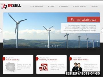 Zrzut strony INS-EL hurtownia elektroinstalacyjna