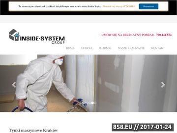 Zrzut strony Usługi budowlane