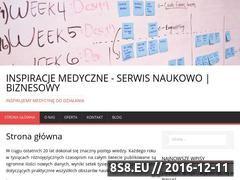 Miniaturka domeny www.inspiracje-medyczne.eu