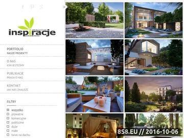 Zrzut strony Projektowanie ogrodów - INSPIRACJE