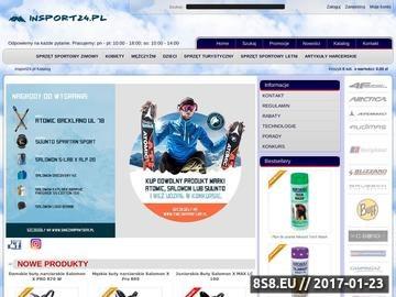 Zrzut strony Insport24.pl