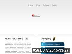 Miniaturka domeny www.instalacje-czerny.pl