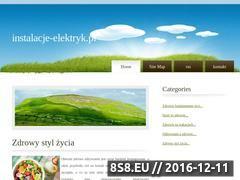 Miniaturka domeny www.instalacje-elektryk.pl