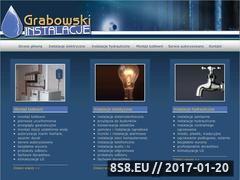 Miniaturka domeny www.instalacje-grabowski.pl