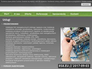Zrzut strony Instalacje elektryczne, pomiary, projektowanie instalacji