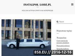 Miniaturka domeny www.instalpol-lodz.pl