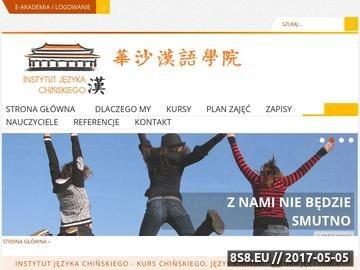 Zrzut strony Język Chiński Warszawa