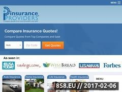 Insurance Providers Website