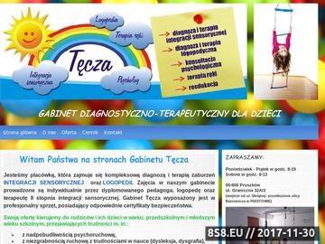 Zrzut strony Gabinet integracji sensorycznej i logopedii