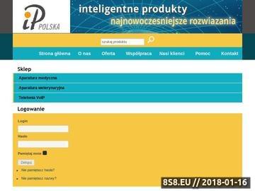 Zrzut strony IP Polska Sp. z o.o. - Inteligentne Produkty